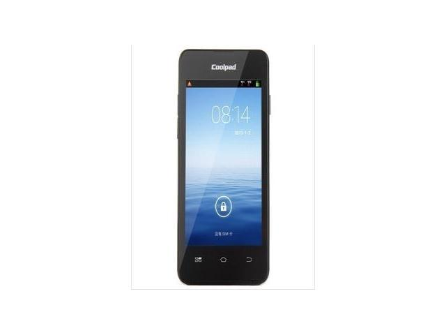 New Original Unlocked Coolpad 7231 MTK6572 Smartphone Cell phones 4.0 inch Dual Core Dual Sim 1.3GHz Android 4.2 3G WCDMA Black