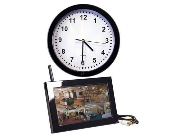 Spy-MAX Security Products Xtremelife LCD PIR Wall Clock, Includes Free eBook