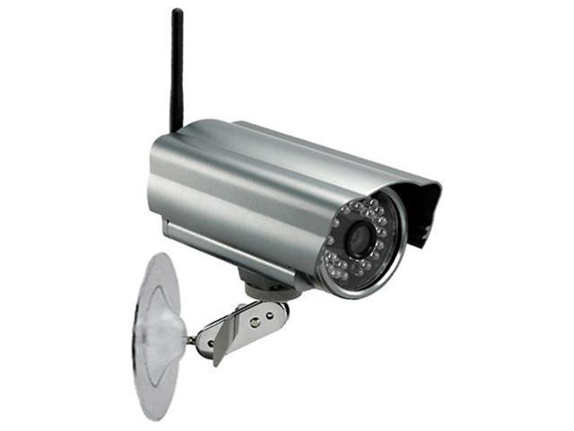 Spy-MAX Security Products Nightvision Outdoor Wi-Fi IP Camera, Includes Free eBook