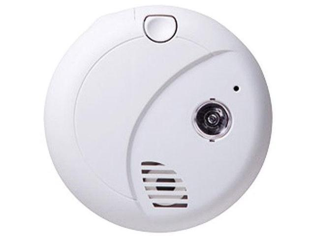 Spy-MAX Security Products Night Guard Invisible IR Smoke Detector Surveillance Camera, Includes Free eBook