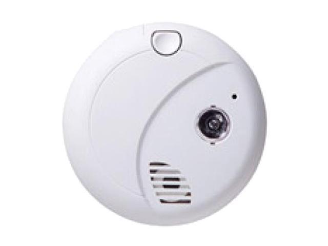 Spy-MAX Security Products First Alert Smoke Detector Alarm Wireless IP Surveillance Camera, Includes Free eBook
