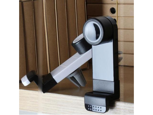 Universal Car Air Vent Phone Holder Mount for iPhone 4/4S 5 5C LG Samsung S4 HTC(black)