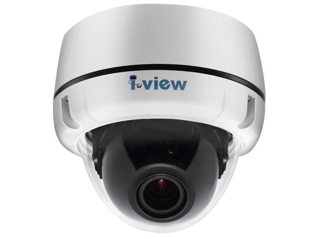 I-View Communication Inc. DM-2MIPS-F04, 2-Megapixels FULL HD 1080P, Fix Lens 3.6mm, Vandal Proof Dome Network IP Camera PoE, 18months warranty