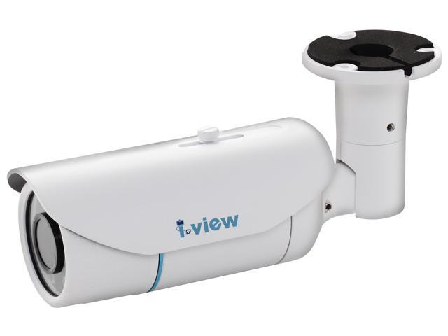 I-View Communication Inc. IR-2MIPS04-M0311, 2-Megapixels FULL HD 1080P, Motorized Lens 03-11mm, IR Bullet Network IP Camera PoE, 18months warranty