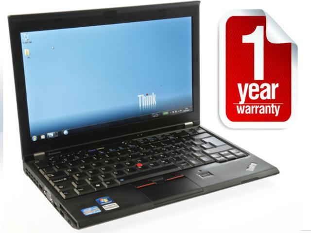 Lenovo ThinkPad X220 Intel i5 2nd Gen 2.5GHz - 500GB Hard Drive - 8GB - 12.5