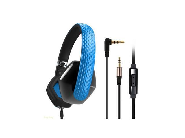 New Brand Somic M4 Collapsible Portable Headband Headphone Noise Isolating Headset Headphones With Micphone For MP3, Mobile Phone, PC