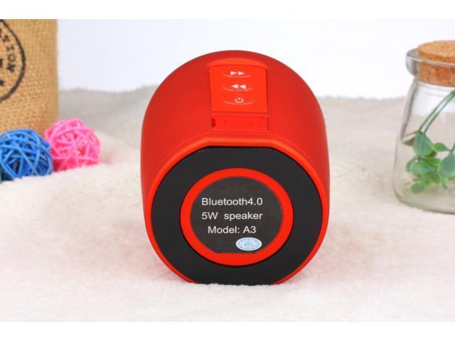A3 Super Bass Mini Bluetooth Speaker Portable Wireless Outdoor Travel Speaker Subwoofer Speakers for Smart Cell Phones