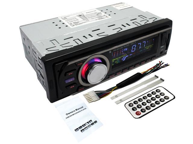 Pandamoto Car Multi-Functional Player New FM and MP3 Stereo Radio Receiver Aux with USB Port and SD CardSlot Ship From USA