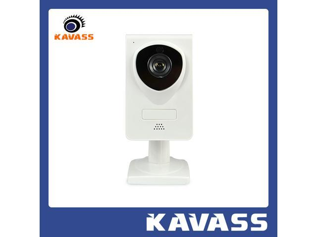 KAVASS HD P2P 720P Home Security Surveillance Night Vision Wireless WIFI IP Network Camera Scan QR Code View