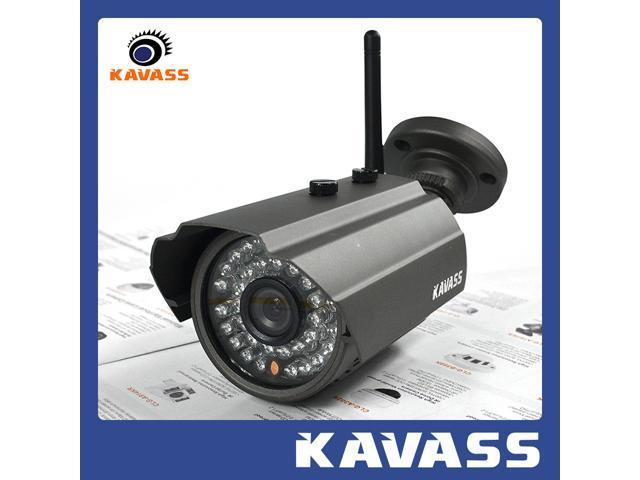 KAVASS P2P 2.0MP Lens 720P HD Wireless Network IP Home Security Camera 60ft Night Vision Support Connection with HVR/NVR Viewed by Smartphone iPhone