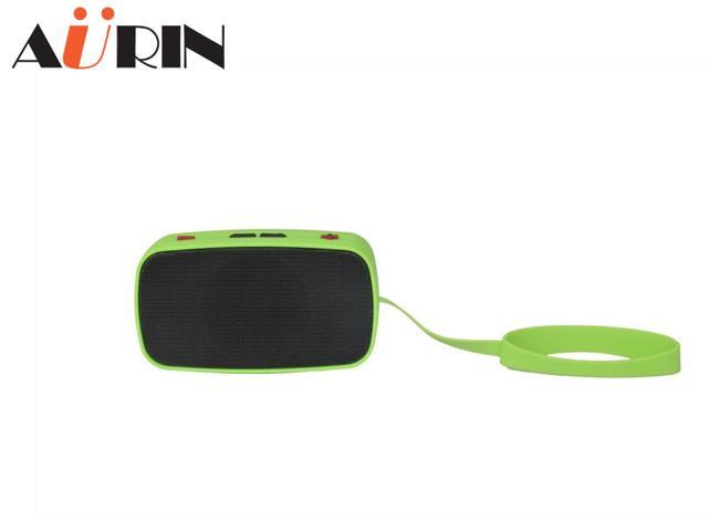 AURIN Portable Stereo Wireless Bluetooth speaker with Built in Speakerphone and Support Handsfree Calling -Green