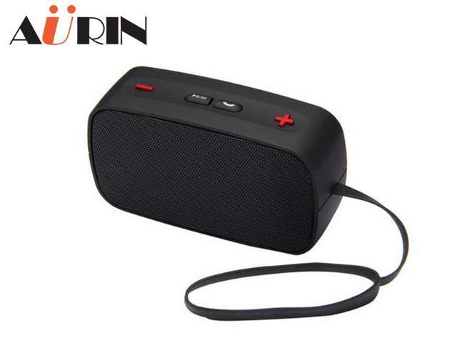 AURIN Portable Stereo Wireless Bluetooth speaker with Built in Speakerphone and Support Handsfree Calling-Black