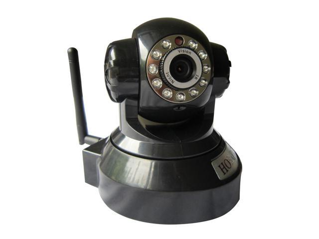 HOSAFE 1MW2 H.264 1.0 Megapixel 1280*720P HD Wireless IP Camera with micro SD card recording, Pan/Tilt and Two way speak, 33ft night vision, ...