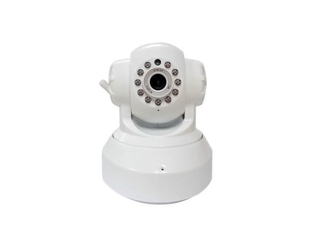 HOSAFE 1MW2W H.264 1.0 Megapixel 1280*720P HD Wireless IP Camera with micro SD card recording, Pan/Tilt and 2 way speak, 33ft night vision, ...