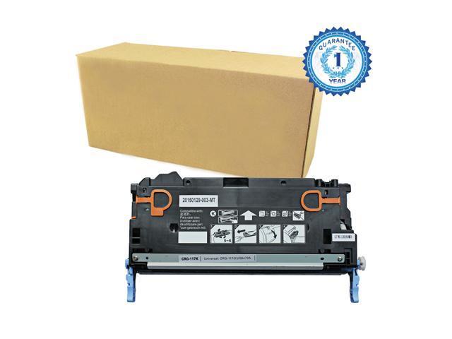 1PK Canon 117 CRG-117 117BK (2578B001AA) Black Toner Cartridge for Canon ImageClass MF8450 MF8450C MF9130 MF9150c MF9170c MF9220CDN MF9280CDN ...