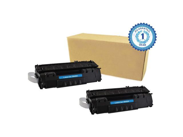 2PK HP 49X Q5949X Black Toner Cartridge Compatible with HP LaserJet 1320 1320N P2010 P2014 P2015 P2015d P2015dn P2015n P2015X M2727mfp M2727nf ...