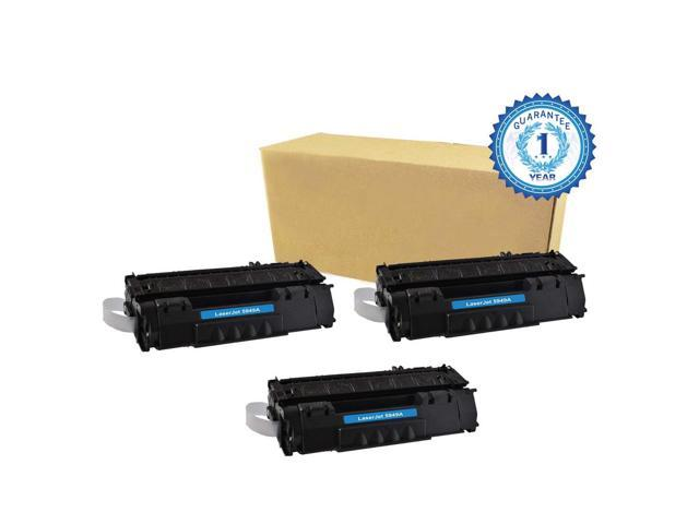 3PK HP 49X Q5949X Black Toner Cartridge Compatible with HP LaserJet 1320 1320N P2010 P2014 P2015 P2015d P2015dn P2015n P2015X M2727mfp M2727nf ...
