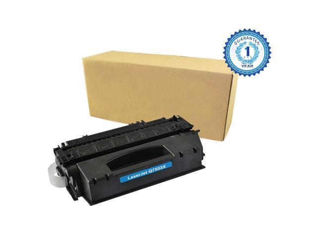 1PK HP 53X Q7553X Black Toner Cartridge Compatible for HP LaserJet 1320 1320N P2010 P2014 P2015 P2015d P2015dn P2015n P2015X M2727mfp M2727nf MFP ...