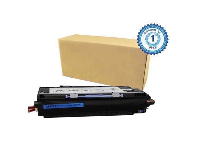 1PK HP 309A Q2671A Cyan Toner Csartridge for HP Color LaserJet 3500 3500n 3550 3550n