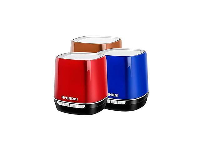 HYUNDAI i80 Bluetooth Wireless Speaker TF Card Mini Speaker -(Red /Black / Blue / Silver / Brown)