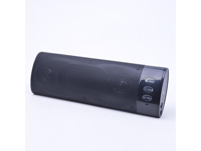Bluetooth Stereo Portable Speaker with 10 –hour rechargeable Battery and integrated Lan Tun 258B Color Black and High Quality earbud for Iphones, ...