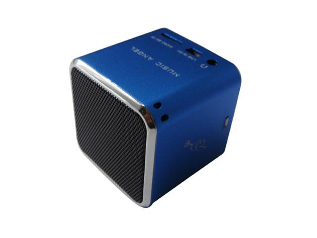 Original Music Angel JH-MD07 Support TF card Portable Mini Digital Speaker-Blue