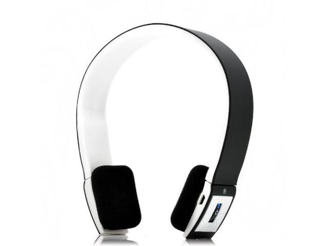 Bluetooth Stereo Headset with Microphone-in for Iphone 4/4s /Ipad 2 3 /Ps3 - Support Two Device At the Same Time Black