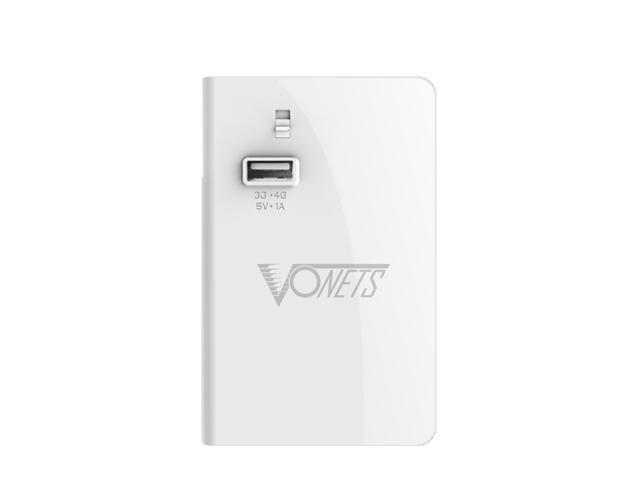 Vonets Magic 4G Wi-Fi Router + Wi-Fi Repeater - 3G/4G 300Mbps 6000mAh Portable Power Bank 1A/2.1A Output Charge Function