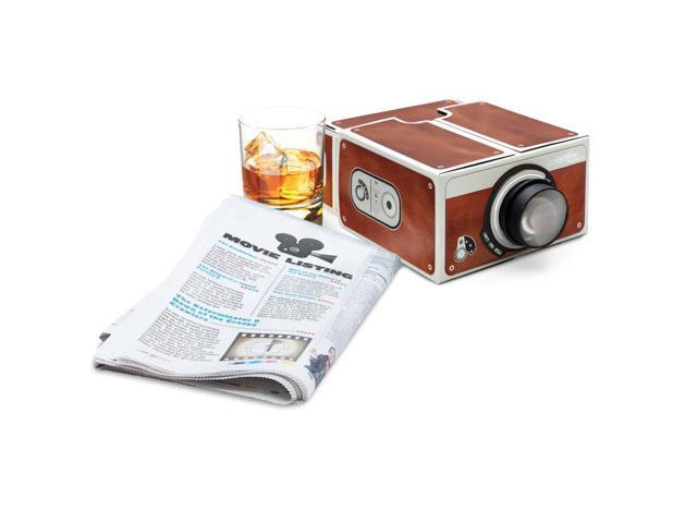 Cardboard Smartphone Projector / DIY Mobile Phone Projector Portable Cinema - Second Generation
