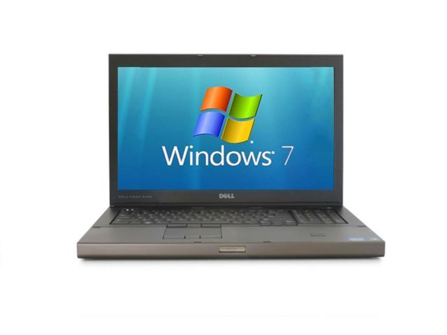 Dell Precision M6600 Laptop Notebook - Core i7-2620M 2.7GHz - 8GB RAM - 480GB SSD / Solid State HDD - DVD/RW - Windows 7 Professional ...