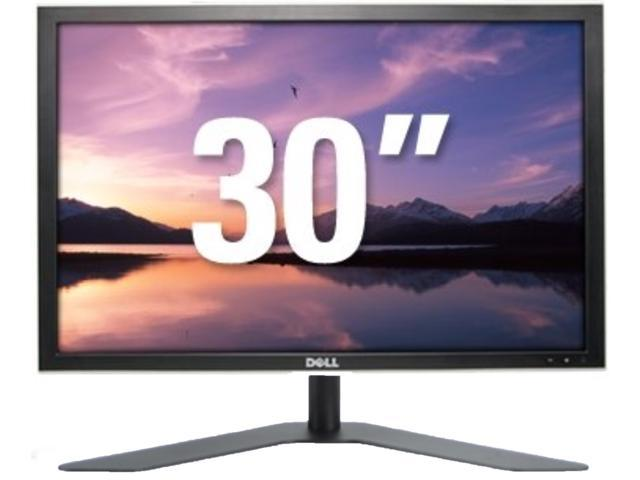 Dell UltraSharp 3007WFP 30 Inch LCD Widescreen Monitor Adjustable Height & Swivel w/USB hub & Card Reader 300 cd/m2 1000:1 8ms