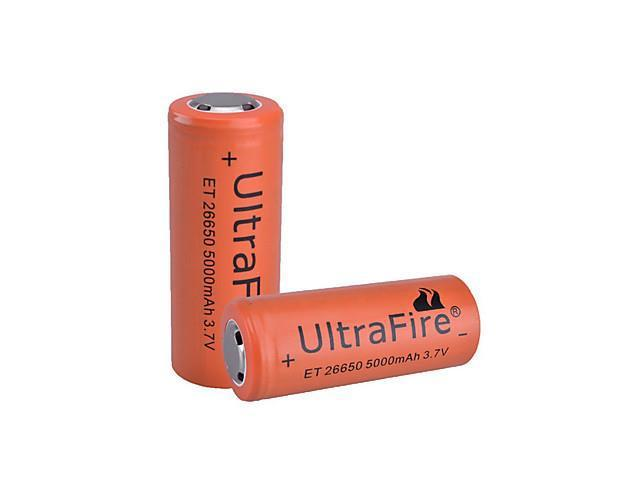 SingFire B00007 5000mAh Rechargeable 26650 Battery (Orange)
