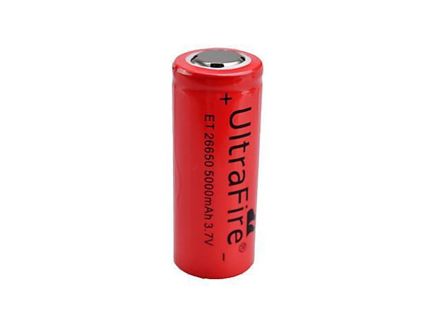 UltraFire R00001 5000mAh Rechargeable 26650 Battery (Red)