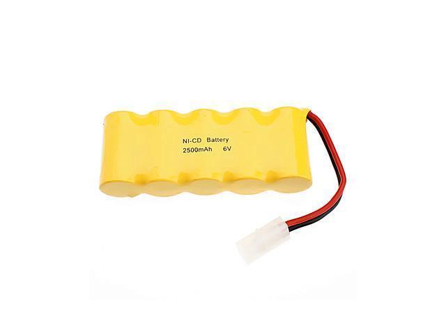 6V 2500 mAh Rechargeable NI-CD Battery