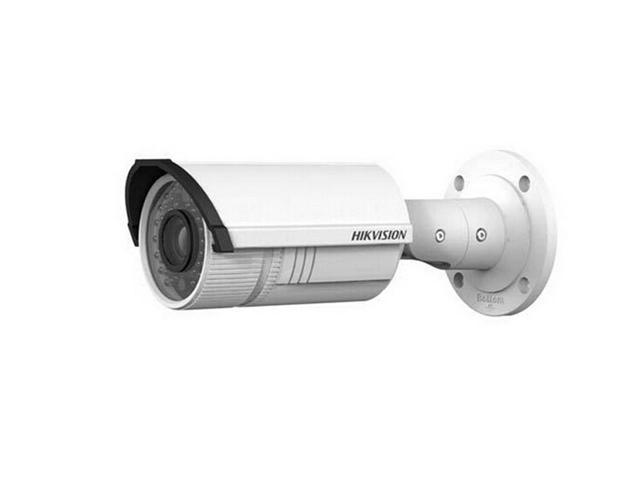 Hikvision DS-2CD2632F-IS Audio and alarm optional True day / night 3MP Vari-focal IR Bullet Camera with 2.8-12mm vari-focal lens, US Firmware ...