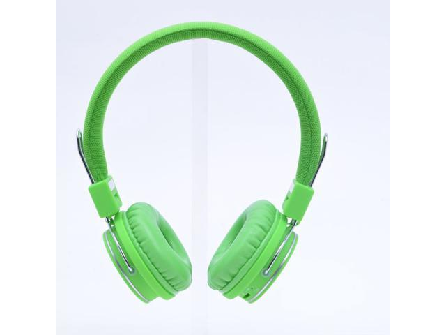 Bluetooth Wireless and Stereo Headphones with Microphone Color Green Lan Tun Ship By DHL FREE M28