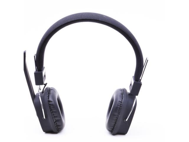 Hi-Fi Wireless Stereo Bluetooth Noise Cancelling DJ Style Bass Over-ear Headphone Black LEVN M32
