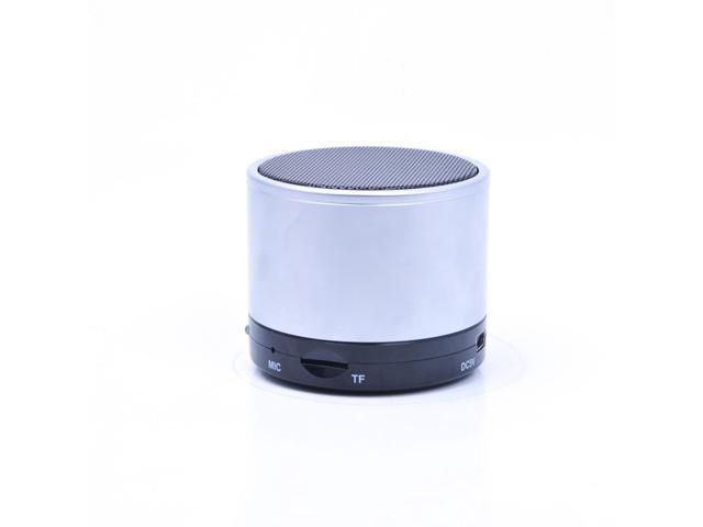 Mini portable Alloy Steel housing Powerful loud Bluetooth speaker with Bass Color Silver S10