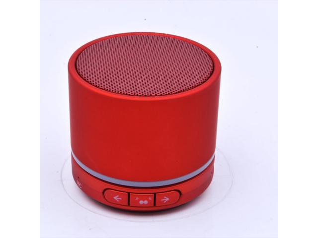 Wireless portable Bluetooth Speaker for all Bluetooth enabled S13T Color Red And HI-FI Stereo Wireless Noise Cancelling Bluetooth DJ Style Bass ...