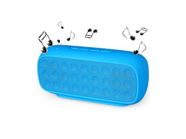 Onstar Water Cubic 106 Multi-function Wireless Bluetooth X-bass Music Speaker Built-in Microphone Support TF Card AUX Audio Input (blue)