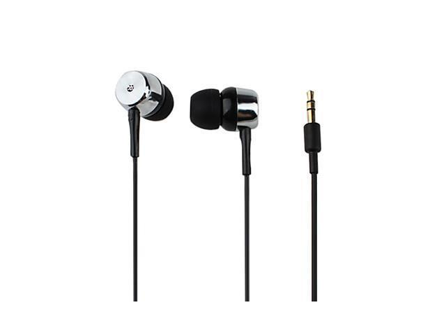 Xiong Kanen Extra Bass Coherence-mute In-Ear Earphones with Volume Control (Silver)