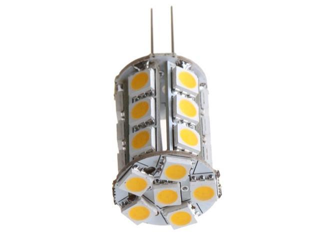 TorchStar Tower Type LED G4 3200K Warm White Lamp 24SMD 5050 LED , Halogen Bulb Replacement 12V 2Watts Omni-Directional