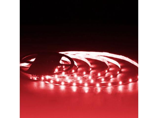 16.4ft (5m) RED Flexible LED Strip Lights - 5050 SMD 150LEDs/pc - Non-waterproof IP-44
