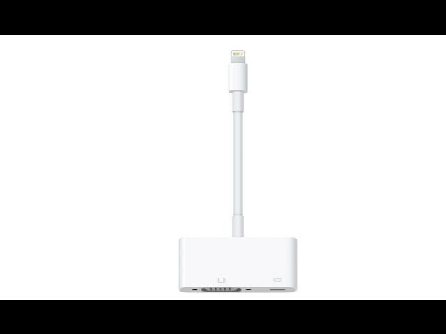 Apple Lightning to VGA Adapter MD825ZM/A