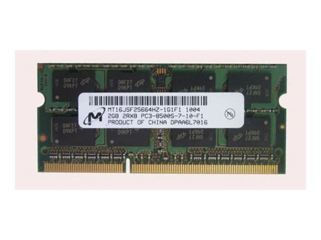 Micron 2GB DDR3 1066 PC3-8500S Laptop Memory RAM