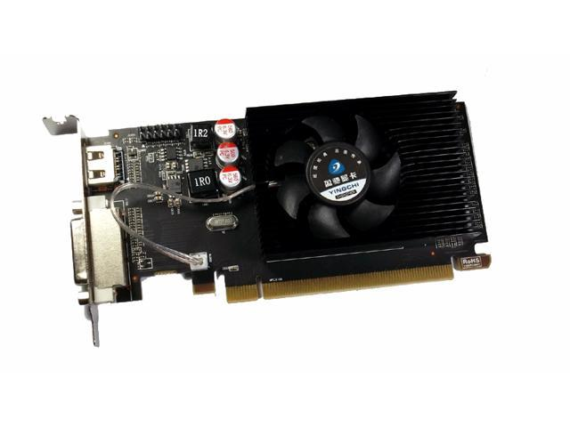 DoDo DIY AMD Radeon HD 6450 2GB GDDR3 HDMI/VGA/DVI PCIe x16 Low Profile Video Graphics Card