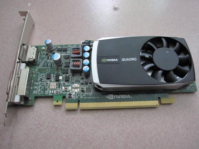 Nvidia Quadro 600 1GB 128Bit DDR3 DVI DisplayPort PCI-Express 2.0 Video Card