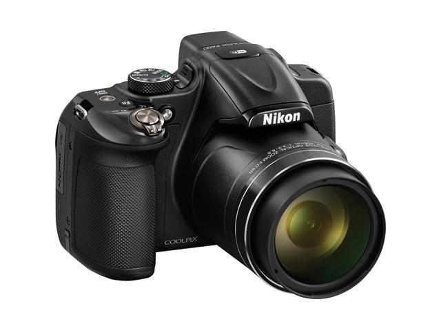 Nikon Coolpix P600 Wi-Fi Digital Camera (Black) - Factory Refurbished includes Full 1 Year Warranty