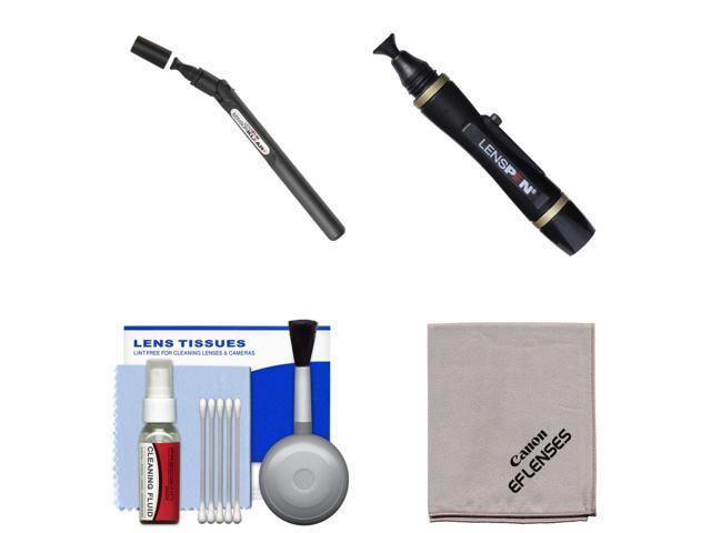 Lenspen SensorKlear II Digital SLR Camera Sensor Cleaning Pen with Canon Cloth + Kit