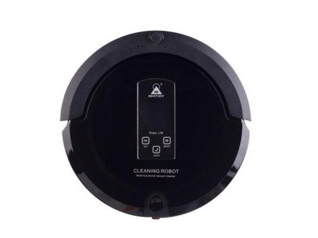 AmTidy A325 Intelligent Robot Vacuum Cleaner with 4-in-1 Multifunction (Black)